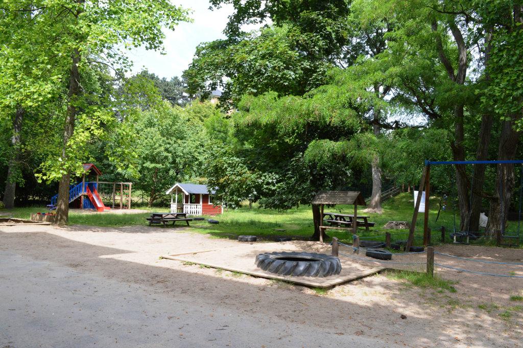 Lekloftets trädgård